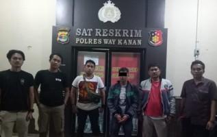 Buron 10 Bulan, DPO Pelaku Curanmor Ditangkap di Kasui