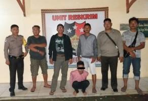 Buron 6 Bulan, DPO Begal Ini Ditangkap Anggota Polsek Abung Selatan