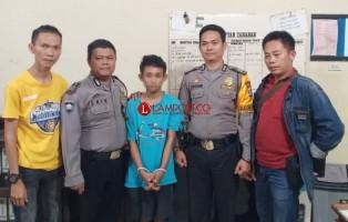 Buron Sepekan, Pelaku Begal Ditangkap di Bandar Lampung