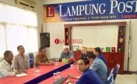 BWI Silaturahmi ke Lampung Post