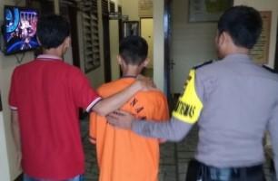 Cabuli Keponakan, Remaja Ini Digelandang ke Polsek Sukoharjo