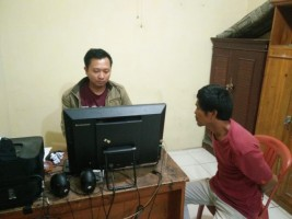 Cabuli Keponakan, Warga Abung Selatan Ini Digelandang ke Kantor Polisi