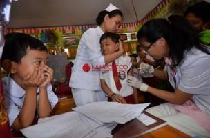 Cakupan Imunisasi MR di Lampung Terus Meningkat