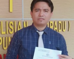 Caleg Terpilih DPRD Pringsewu Lapor ke Polda Soal Pencemaran Nama Baik