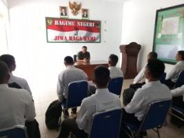 Calon Prajurit TNI Diberikan Motivasi