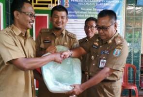 Camat Buay Bahuga Launching Jamban Sehat dan Murah