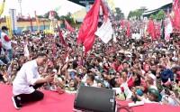 Capres 01 Jokowi Targetkan Menang 80 Persen di Banyumas