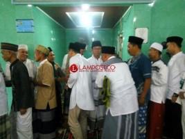 Cawabup Budi Utomo Shalat Id di  Masjid Baitul Jaisy