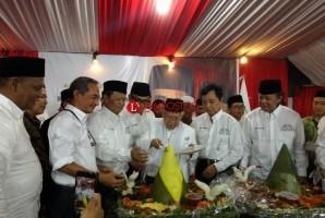 Cawapres KH Ma'ruf Amin Hadiri Syukuran  Rumah Kerja Bhinneka Nusantara
