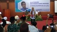 Cawapres Sandiaga Uno Sapa Tokoh Agama di Lampung