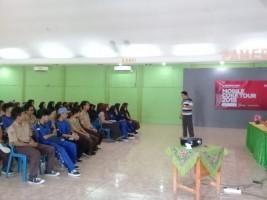 CCAI Inspirasi Wirausaha Milenial di SMKN 5 Bandar Lampung