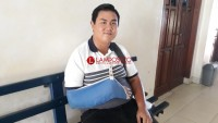 Cedera Tak Halangi Riza Alifin Ikuti UTBK