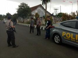 Cegah Gangguan Kamtibmas, Polsek Kotaagung Gelar Patroli