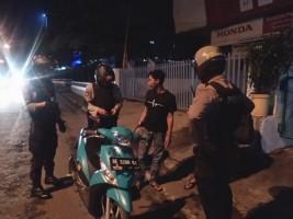 Cegah Gangguan Kamtibmas, Sat Sabhara Polres Lampura Gelar Patroli Subuh