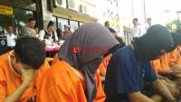 Ciptakan Kondisi Aman, Polresta Tangkap 34 Pelaku C3