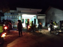 Ciptakan Rasa Aman, TNI-Polri di Way Kanan Lakukan Patroli Gabungan