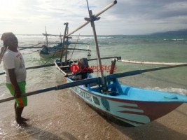 Cuaca Ekstrem, Hasil Tangkapan Nelayan di Pesisir Barat Minim