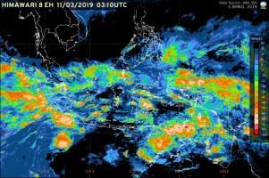 Curah Hujan Tinggi, BMKG Lampung Minta Warga Waspada