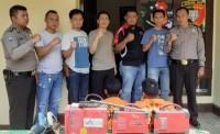 Curi Mesin Las Listrik, Dua Pekerja Proyek Bendungan Way Sekampung Ditangkap