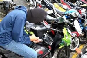 Curi Sepeda Motor, Pemuda Ini Dibekuk Saat Berada di Rumah Makan