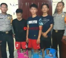 Curi Tabung Gas di Rumah Dinas Bupati Tubaba, 3 Pemuda Ditangkap