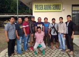 Curi Tv Tetangga, 2 Warga Abung Semuli Ditangkap Polisi