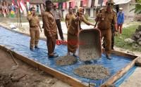 Dada Desa 2018 Desa Mekarmulya Bangun Jalan Cor Beton
