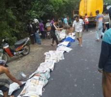 Daftar Nama Korban Tewas dan Luka-luka Kecelakaan Maut di Way Kanan