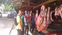 Daging di Pasar Tradisional di Lampura Dinyatakan Aman Konsumsi