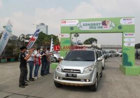 Daihatsu Ajak 142 Keluarga Mudik Bareng