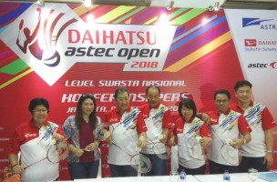 Daihatsu Astec Open 2018 Gelar Babak Final di Jakarta