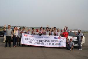 Daihatsu Berikan Edukasi Teknik Pengereman yang Benar