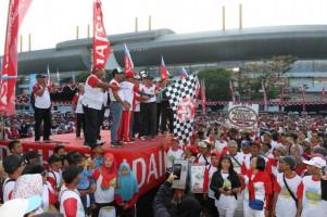 Daihatsu Gelar Kegiatan Jalan Sehat di Yogyakarta