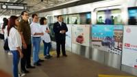 Daihatsu Tampilkan Suasana Sahabatdi Stasiun MRT Cipete Raya