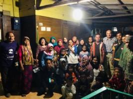 Damar Bantu Anak-Anak Korban Tsunami Lamsel