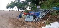 Dampak Tsunami, Pengelola Pantai Wartawan Rugi Miliaran Rupiah