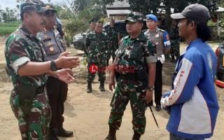 Dandim 0426 dan Kapolres Mesuji Cek Lokasi Pengungsi Korban Bentrok