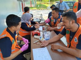 Danone Aqua Tanggamus Helat Aksi Sosial Donor Darah