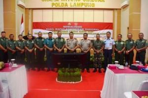 Danrem 043/Gatam: Jelang Pilkada Serentak TNI-Polri siap Amankan Pemilu 2019