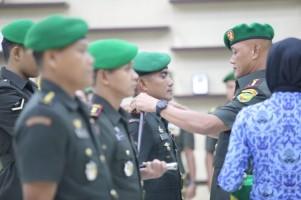 Danrem 043 Pimpin Sertijab Komandan Kodim dan Kepala Staf Korem