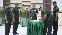 Danrem Pimpin Sertijab dan Penyerahan Tugas Komandan Kodim