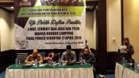 Data Pemilih Bandar Lampung di 4 Titik jadi Sorotan