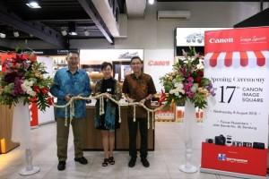Datascrip Resmikan Gerai Canon Image Square Ke-17 di Indonesia