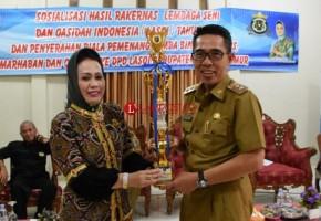 DDP Lasqi Lamtim Juara Umum Kasidah Tingkat Provinsi Lampung