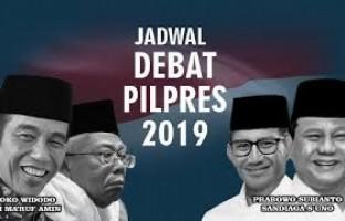 Debat Pilpres Jadi Ajang Informatif