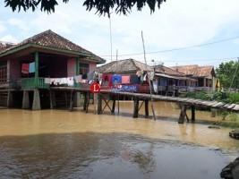 Debit Air Sungai Way Tulangbawang Mulai Meninggi
