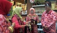 Dekranasda Lamsel Pamerkan Kerajinan di Inacraft 2019 Jakarta