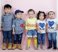 Denim Kids Warnai Penampilan Si Kecil