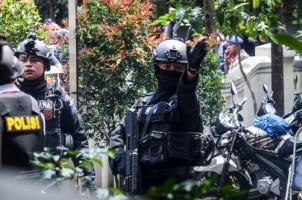 Densus 88 Amankan 2 Terduga Teroris di Way Ratai