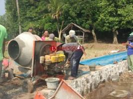 Desa Cugung Realisasikan Pembangunan Infrastruktur